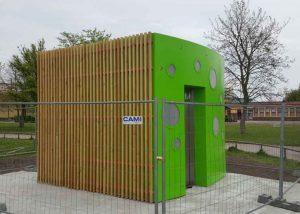 Ombyggnad WC för JC Decaux