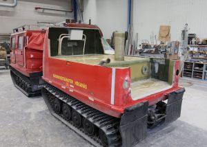 Specialtank till bandvagn